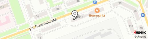 Северодвинская городская организация профсоюза работников народного образования и науки РФ на карте Северодвинска