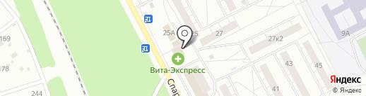 Социальная на карте Ярославля