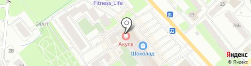 Оптика 33 на карте Вологды