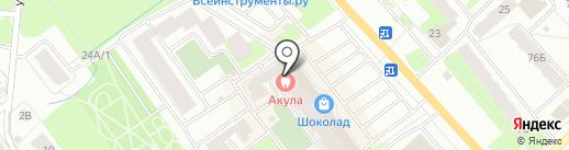 Базальт-Керамика на карте Вологды
