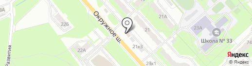 АвтоГид на карте Вологды