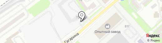 Стройиндустрия на карте Вологды