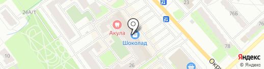 Зайка-Одевайка на карте Вологды