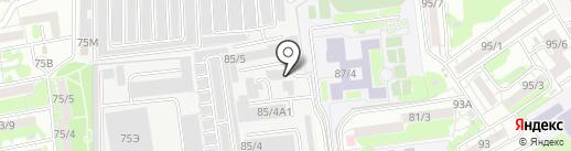 Протэк-Дон на карте Ростова-на-Дону