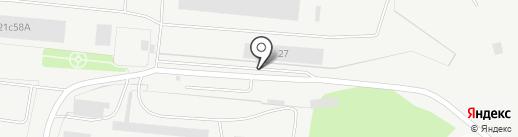 Молот на карте Рязани