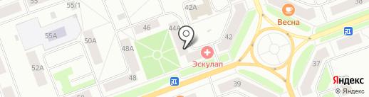 Уют, ТСЖ на карте Северодвинска