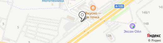 Приоритет Авто на карте Аксая