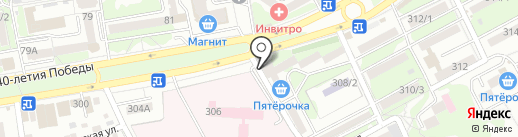 Швейное ателье на карте Ростова-на-Дону