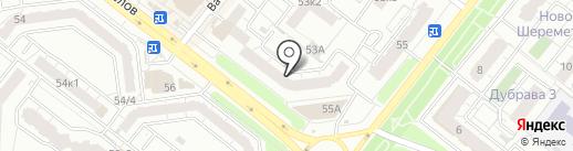 Новоселов 53, ТСЖ на карте Рязани