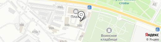 Региональная сеть установочных центров автостекла на карте Ярославля