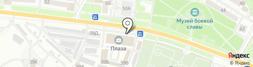 Банкомат, Альфа-банк на карте Ярославля