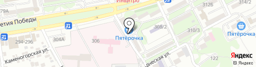 Универсальный сельскохозяйственный магазин на карте Ростова-на-Дону