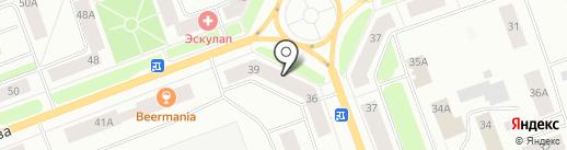 Архангельская областная территориальная организация общероссийского профсоюза работников судостроения на карте Северодвинска