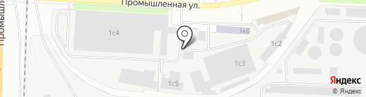 Олений Хутор на карте Ярославля