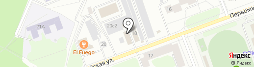 Color авто на карте Северодвинска