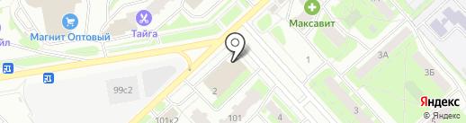 Билайн на карте Вологды