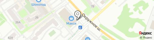 Канцелярим на карте Вологды