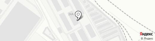 Три-М на карте Ярославля
