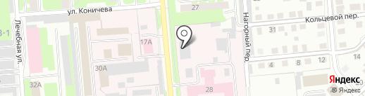 Вологодский психоневрологический интернат №1 на карте Вологды