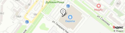Оптика-Сервис на карте Рязани