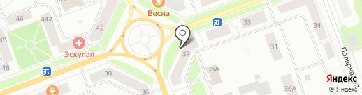 МегаФон на карте Северодвинска