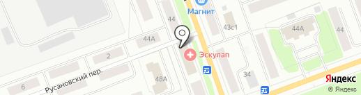 Центр занятости населения г. Северодвинска на карте Северодвинска