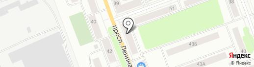 Почтовое отделение №7 на карте Северодвинска