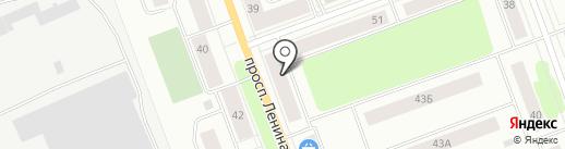 Магазин фруктов и овощей на проспекте Ленина на карте Северодвинска