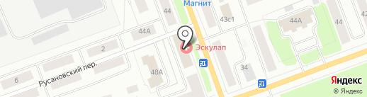 Мастерская по ремонту обуви на проспекте Ленина на карте Северодвинска