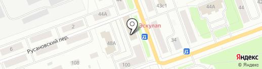 Аттестационный центр-безопасность труда, НОУ ДПО на карте Северодвинска