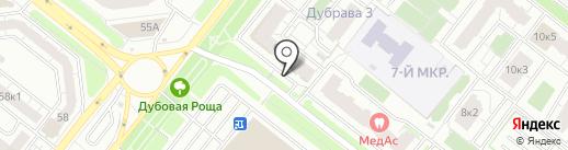 ИНВИТРО на карте Рязани
