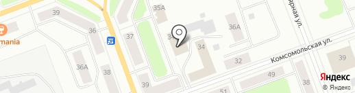 Магазин одежды на карте Северодвинска