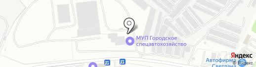 САХ на карте Ярославля