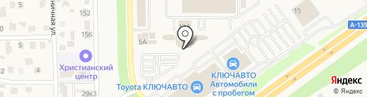 КБ Центр-инвест, ПАО на карте Аксая