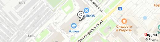 Мир праздника на карте Вологды