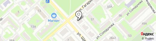 Отель35 на карте Вологды