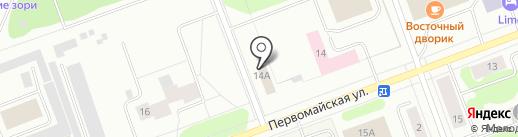 Север-Союз, ЗАО на карте Северодвинска