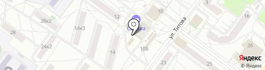 Домашняя Кухня на карте Ярославля
