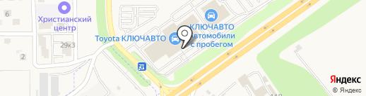 КЛЮЧАВТО на карте Аксая