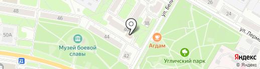 Решение на карте Ярославля