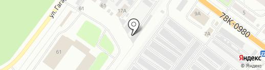 Влона на карте Ярославля