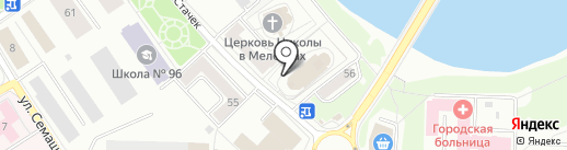 Храм Андрея Критского на карте Ярославля