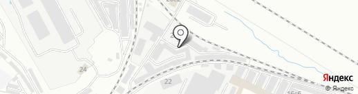 Железнодорожник на карте Ярославля