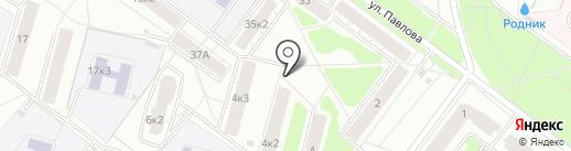Эдельвейс на карте Ярославля