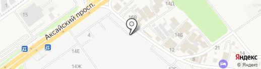 Булат на карте Аксая