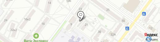 Авто Джин на карте Ярославля