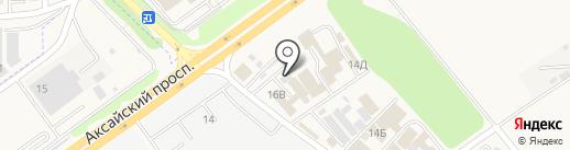 Магазин керамической плитки и керамогранита на карте Аксая