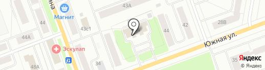 Отделение лицензионно-разрешительной работы по г. Северодвинску на карте Северодвинска