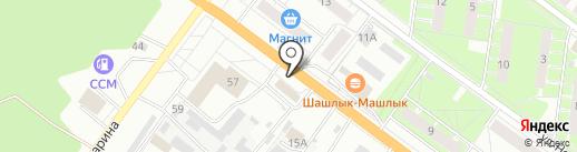Продукты в дорогу на карте Ярославля