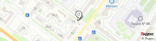 Викушкины ватрушки на карте Ярославля